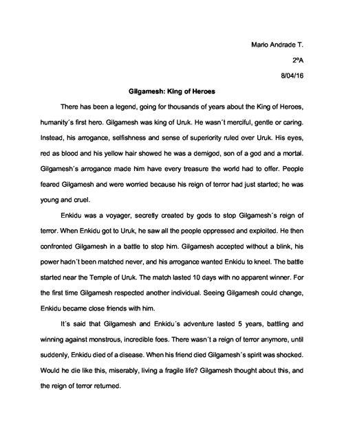 Gilgamesh; King of Heroes