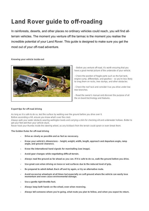 OffRoad-Driving-Guide