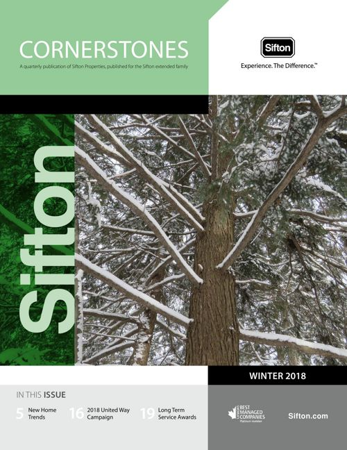 Cornerstones Winter 2018