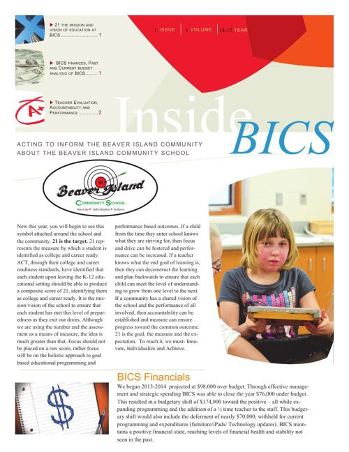 Inside BICS Issue 1