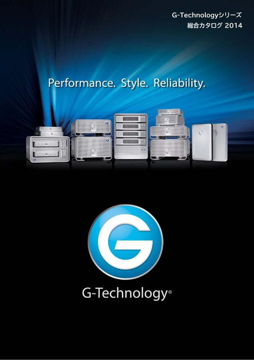 G-Technology Products Catalogue 2014