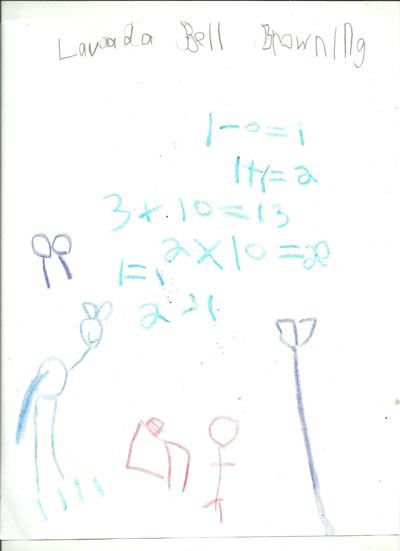 Lavada Browning's Subtraction Book