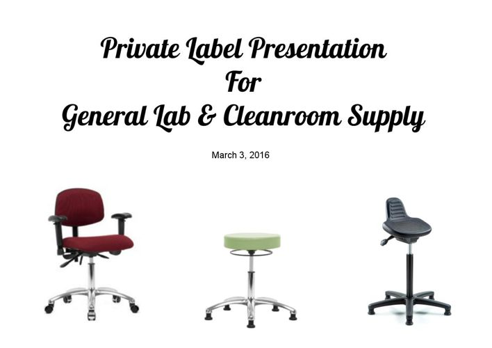 General Lab Presentation