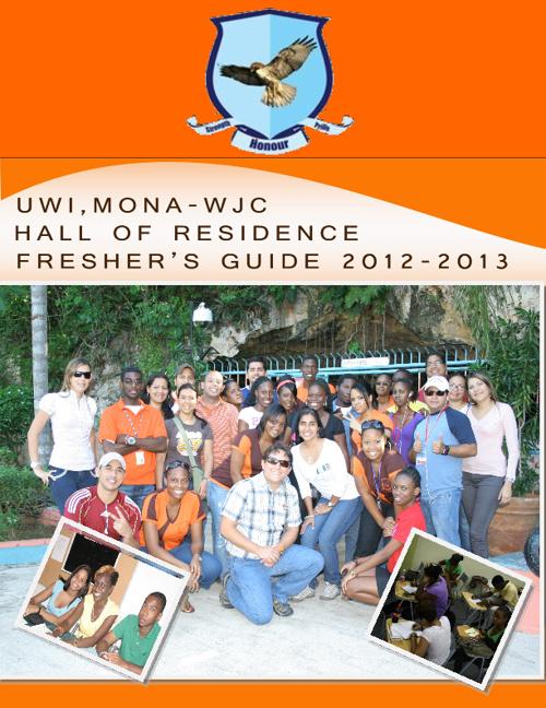 WJC Freshers Guide 2012- 2013