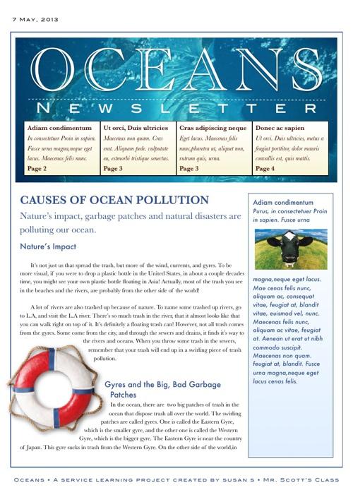 Oceans by Susan