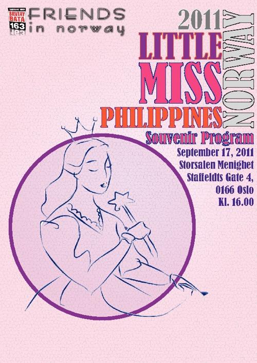Little Ms. Philippines-Norway 2011 Souvenir Program