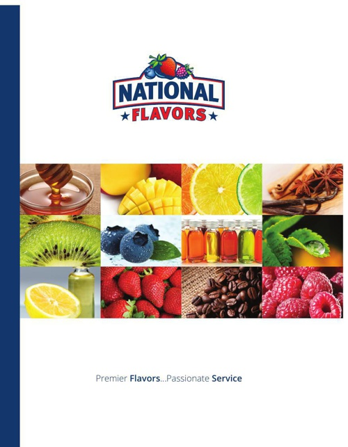 National Flavors Corporate Brochure