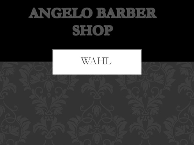ANGELO BARBER SHOP
