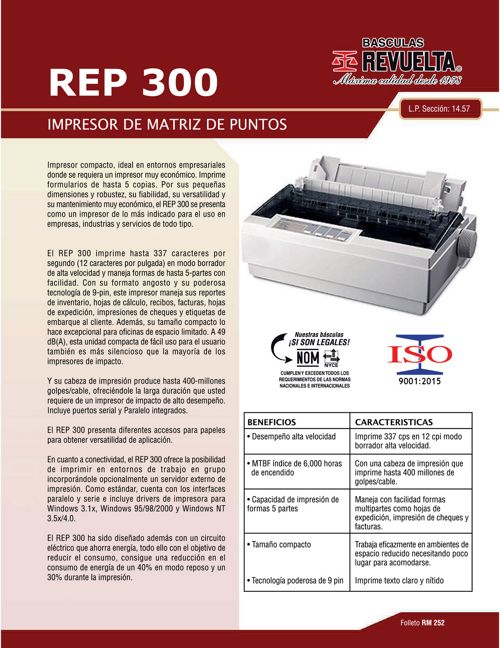 RM 252 REP 300