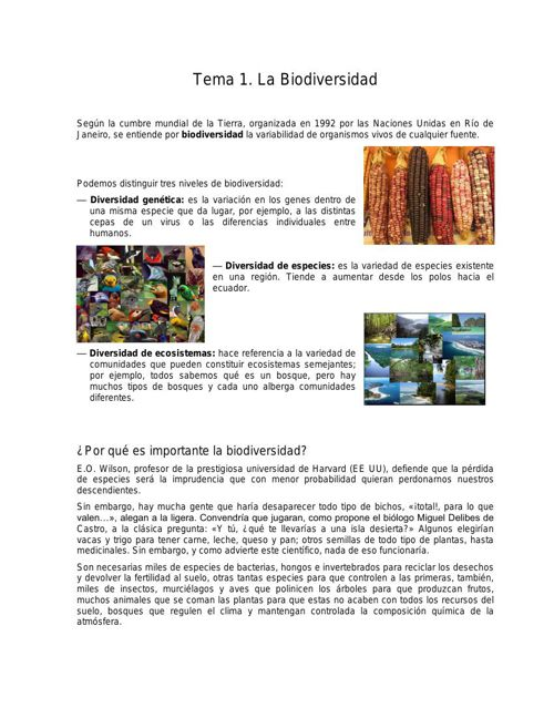 tema 1 Biodiversidad