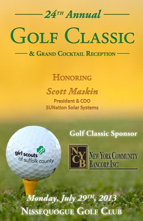 Golf Classic Journal - 2013