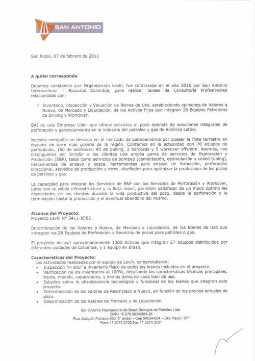 Certificados de Colombia 13-06-2014.