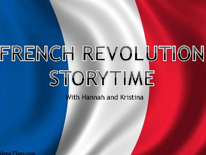 French rev story