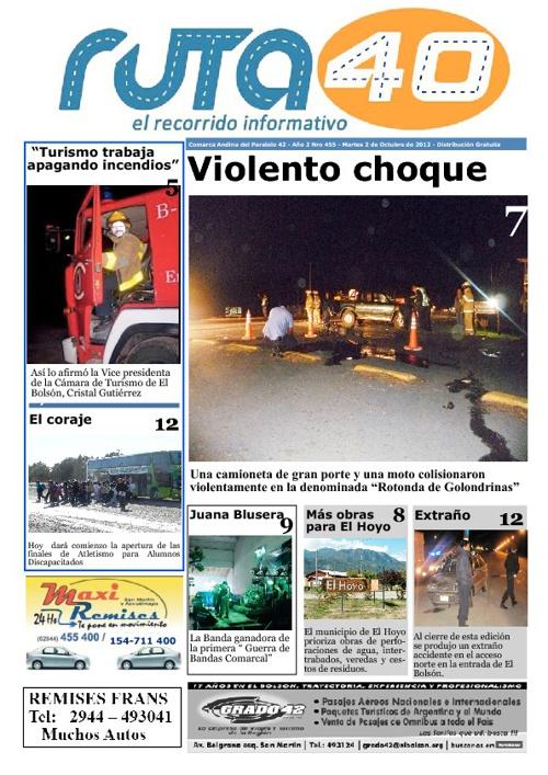 Diario Martes 2 de Octubre
