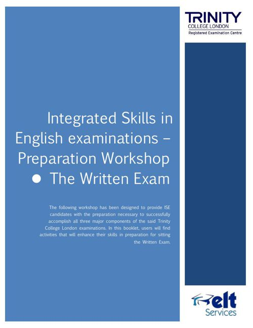 ISE preparation workshop - The Controlled Written Exam