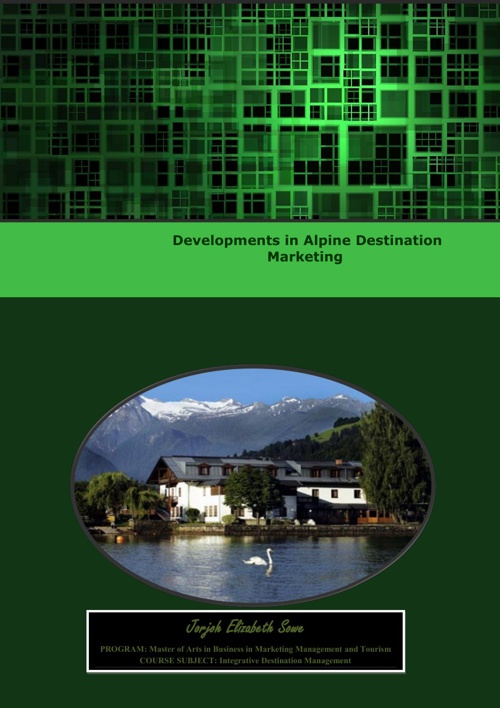 Alpine Tourism Development