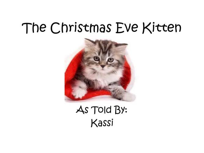 The Christmas Eve Kitten