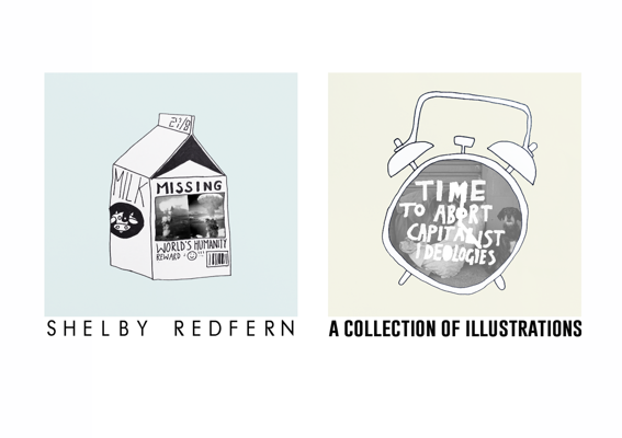 A Collection Of Illustrations by Shelby Redfern