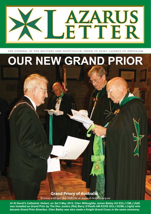 Lazarus Letter - June 2012