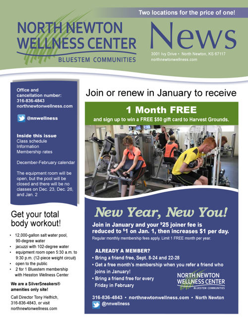 Winter 2016-17 | Hesston Wellness Center News