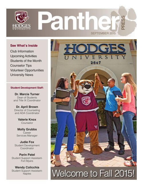 September 2015 Panther Press