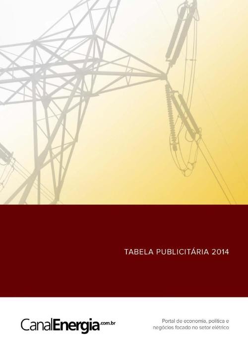 Tabela Publicitaria 2014