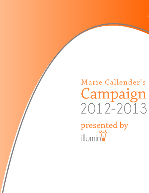 Marie Callenders Campaign 2012