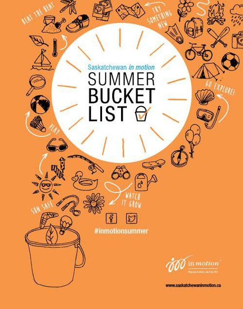 in motion Summer Bucket List