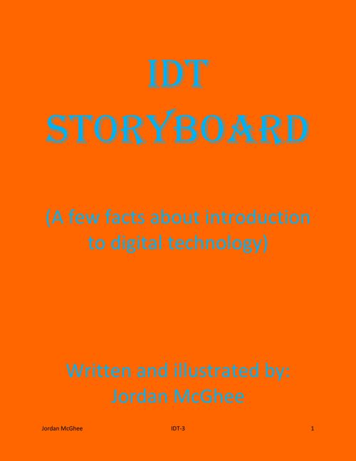 IDT Storyboard