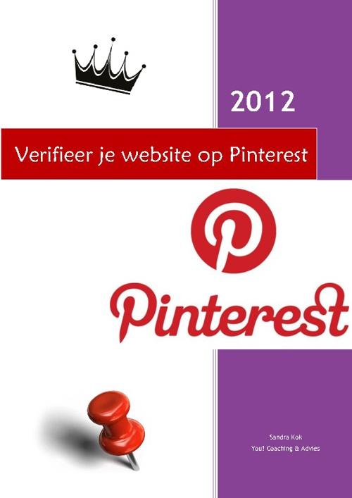 Verifieer je website op Pinterest