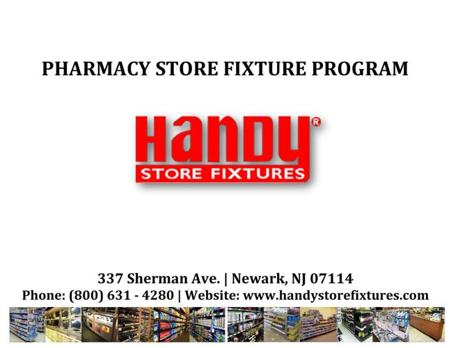 Handy Store Fixtures Pharmacy Catalog