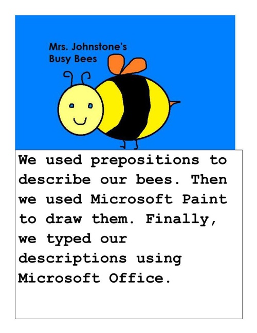 Mrs. Johnstone's Busy Bees