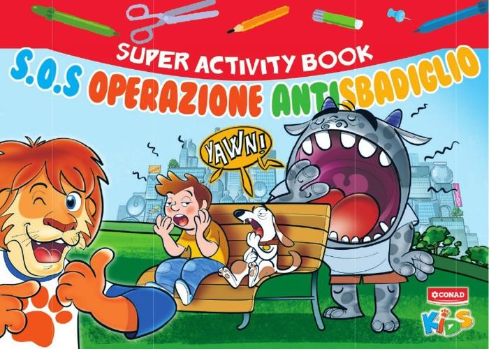 SUPER ACTIVITY BOOK