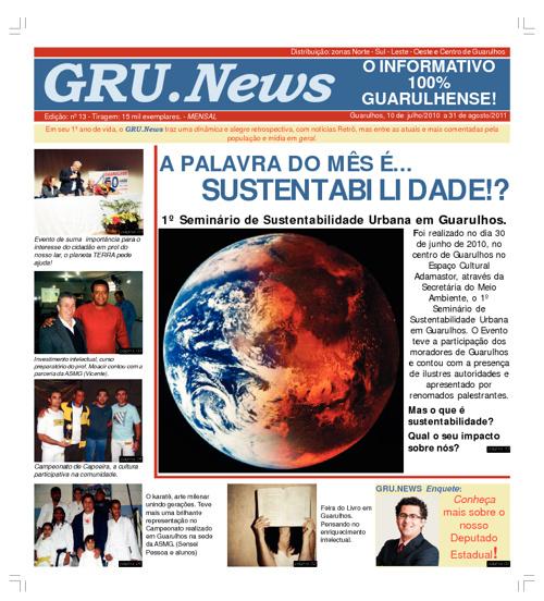 GRU.NEWS - O INFORMATIVO 100% GUARULHENSE!