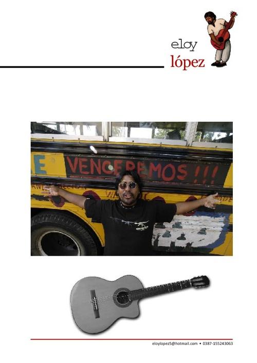 Recorridos musicales / Eloy López