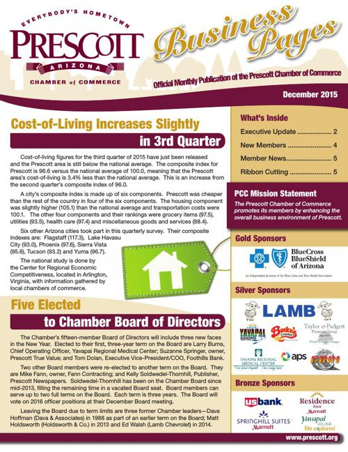 Prescott Chamber 12-15 Newsletter