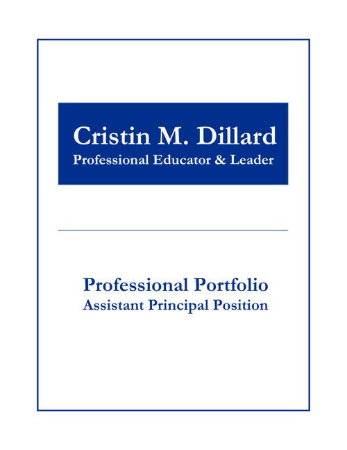 Brewbaker Primary Professional Portfolio