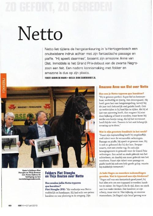 NETTO - Zo gefokt, Zo gereden