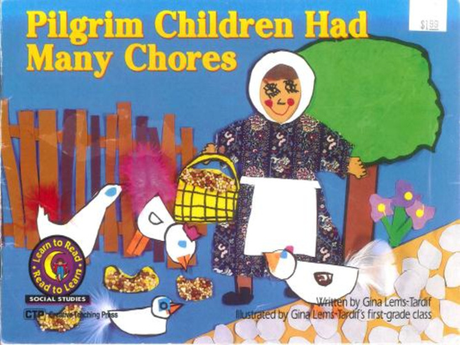 Pilgrim Children Have Many Chores