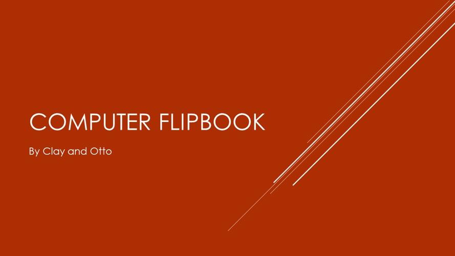 Computer Flipbook