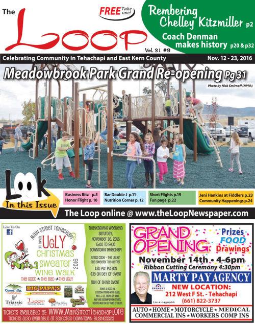 The Loop Newspaper Vol 31 No 09 - Nov 12 to 26, 2016