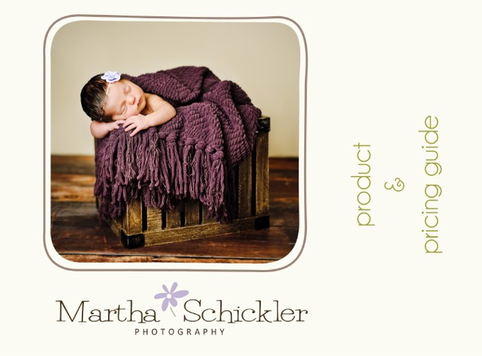 Martha Schickler Photography | Product & Pricing Guide