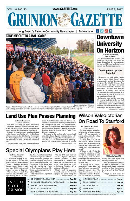 Grunion Gazette     June 8, 2017