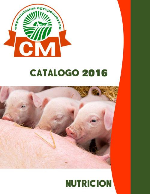 CATALOGO CM NUTRICIÓN 2016 - 2017