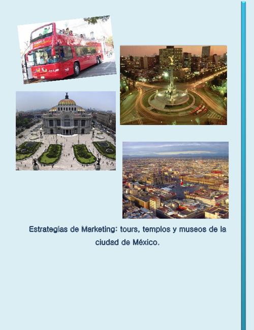 Estrategias de marketing Distrito Federal templos y museos.