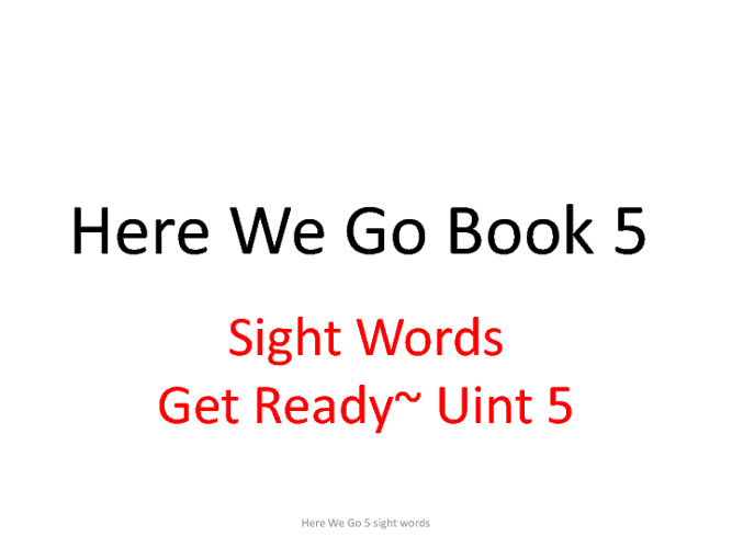 Book 5 Flash cards