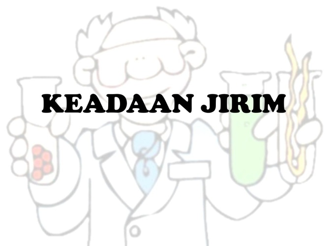 KEADAAN JIRIM