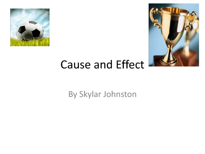 Ms. Bernadino's Cause and Effect Books