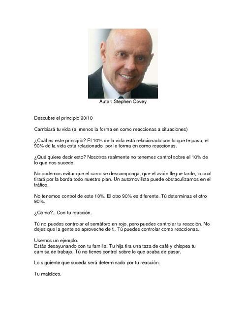 EL PRINCIPIO 90-10