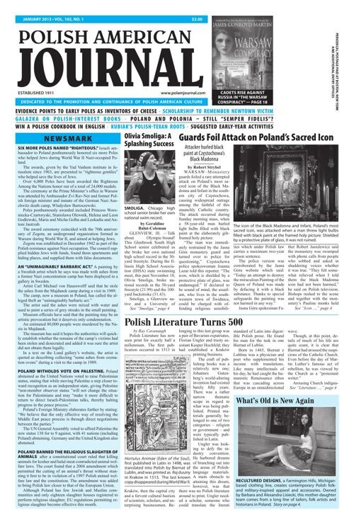 Polish American Journal / January 2013
